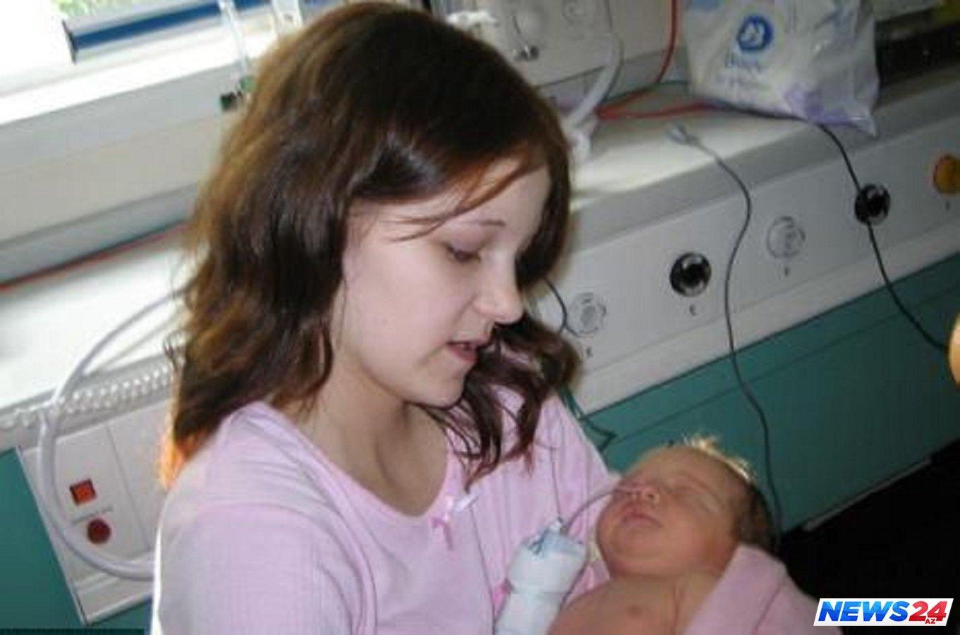 14 yaşlı qız qohumundan uşaq dünyaya gətirdi